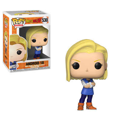 Pop! Animation Dragon Ball Z Vinyl Figure Android 18 #530