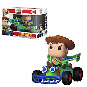 Pop! Rides Toy Story Vinyl Figure Woody with RC #56