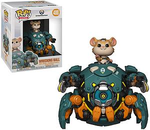 "Pop! Games Overwatch Vinyl Figure 6"" Wrecking Ball"