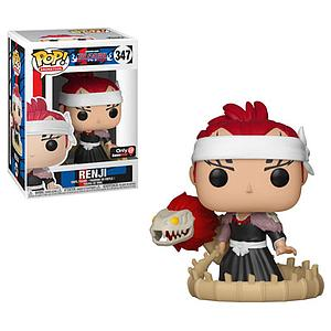 Pop! Animation Bleach Vinyl Figure Renji (Bankai Sword) #347 GameStop Exclusive (EB Games Sticker)