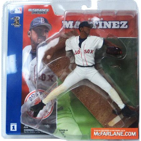 MLB Sportspicks Series 1: Pedro Martinez (Boston Red Sox) White Jersey