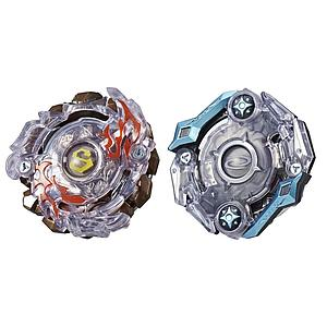 Beyblade Burst Evolution Dual Pack:  Surtr S2 (Attack Type) and Odax O2 (Stamina Type)