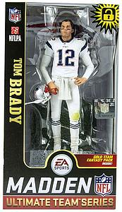 Madden NFL 19 Ultimate Team Series 1: Tom Brady (New England Patriots) White Jersey Exclusive