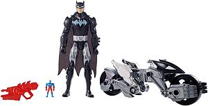 DC Justice League Action: Batman & Transforming Batcycle