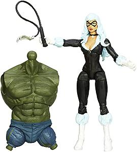 Marvel Legends Infinite Build-a-figure 6 Inch Amazing Spider-Man 2: Black Cat (Green Goblin)