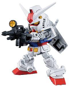 Gundam SD Gundam Cross Silhouette Model Kit: RX-78-2 Gundam & Cross Silhouette Frame Set