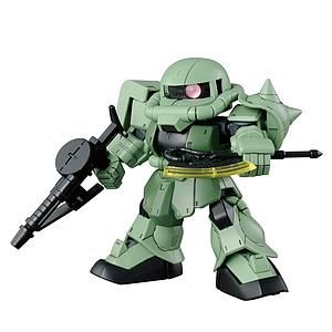 Gundam SD Gundam Cross Silhouette Model Kit: #04 Zaku II
