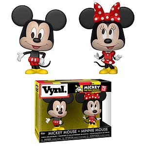 Vynl Disney - Mickey Mouse + Minnie Mouse
