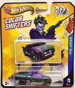 Hot Wheels Batman Color Shifters Cars: The Joker Jester