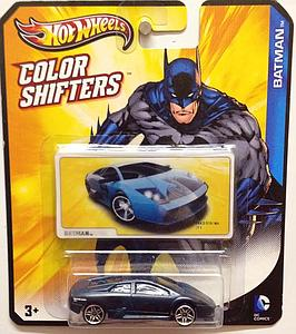 Hot Wheels Batman Color Shifters Cars: Batman (Lamborghini Murcielago)