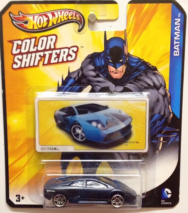 Hot Wheels Batman Color Shifters Cars: Batman (Lamborghini