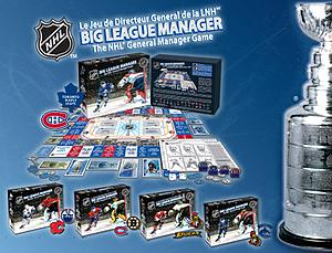 NHL Big League Manager: Classic Edition (Edmonton Calgary Cover)