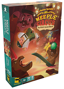 Meeple Circus: The Wild Animal Aerial Show