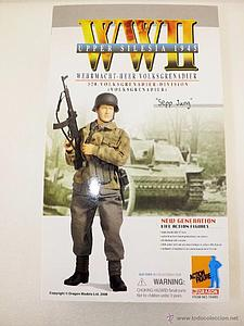 "Dragon Models 1/6 (12"") Scale Action Figure WWII Upper Silesia 1945 Wehrmacht-Heer Volksgrenadier Sepp Jung"