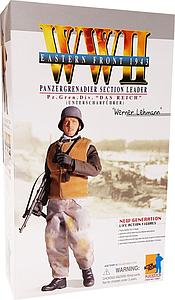 "Dragon Models 1/6 (12"") Scale Action Figure WWII Eastern Front 1943 Panzergrenadier Section Leader Werner Lehmann"