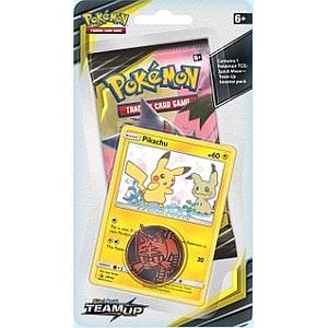 Pokemon Trading Card Game: Sun & Moon (SM9) Team Up Checklane Blister Pack - Pikachu