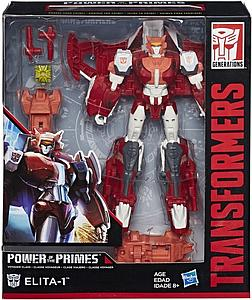 Transformers Generations Power of the Primes Voyager Class Elita-1