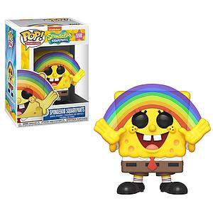 Pop! Animation Spongebob Squarepants Vinyl Figure Spongebob Squarepants (Rainbow) #558