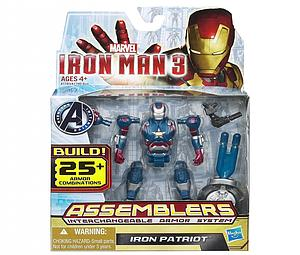 Iron Man Assemblers Interchangeable Armour System 3 3 3/4 Inch: Iron Patriot
