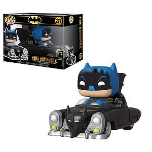 Pop! Rides DC Heroes 1950 Batman Vinyl Figure Batmobile