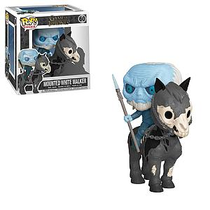 Pop! Rides Television Game of Thrones Vinyl Figure White Walker on Horse