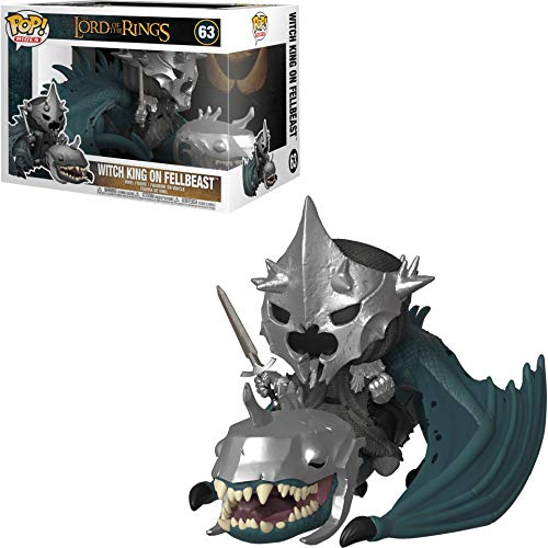 Pop! Rides Lord of the Rings Vinyl Figure Witch King on Fellbeast #63