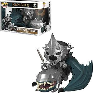 Pop! Rides Movies Lord of the RIngs Vinyl Figure Witch King with Fellbeast