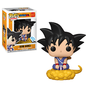 Pop! Animation Dragon Ball Vinyl Figure Son Goku #517 GameStop Funko Insider Club Exclusive