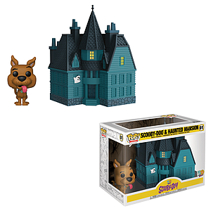Pop! Town Animation Scooby-Doo Vinyl Figure Scooby-Doo & Haunted Mansion #01