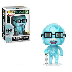 Pop! Animation Rick & Morty Vinyl Figure Dr. Xenon Bloom (Glows in the Dark) #570