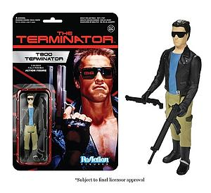 ReAction Figures Terminator Series The T-800 Terminator (Vaulted)