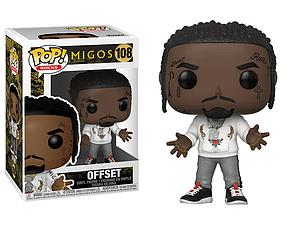 Pop! Rocks Migos Vinyl Figure Offset #108