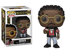 Pop! Rocks Migos Vinyl Figure Quavo #109