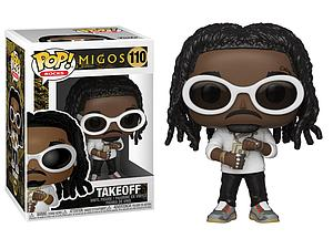 Pop! Rocks Migos Vinyl Figure Takeoff #110