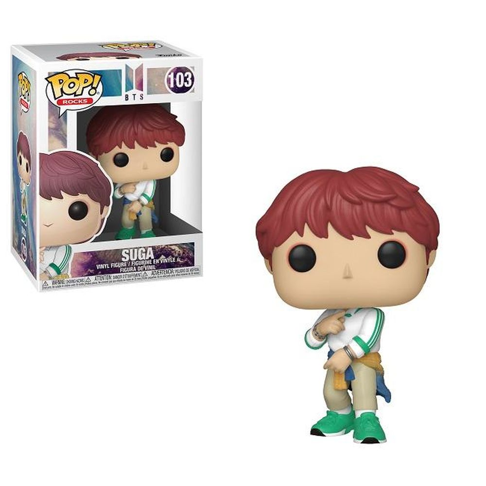 Pop! Rocks BTS Vinyl Figure Suga #103