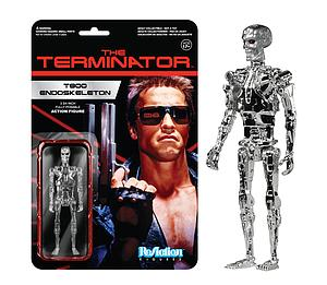 ReAction Figures Terminator Series Chrome Endoskeleton (Vaulted)