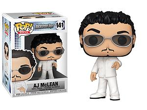 Pop! Rocks Backstreet Boys Vinyl Figure AJ McLean #141