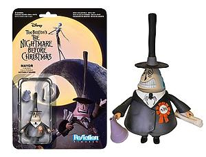 ReAction Figures Nightmare Before Christmas Series Mayor