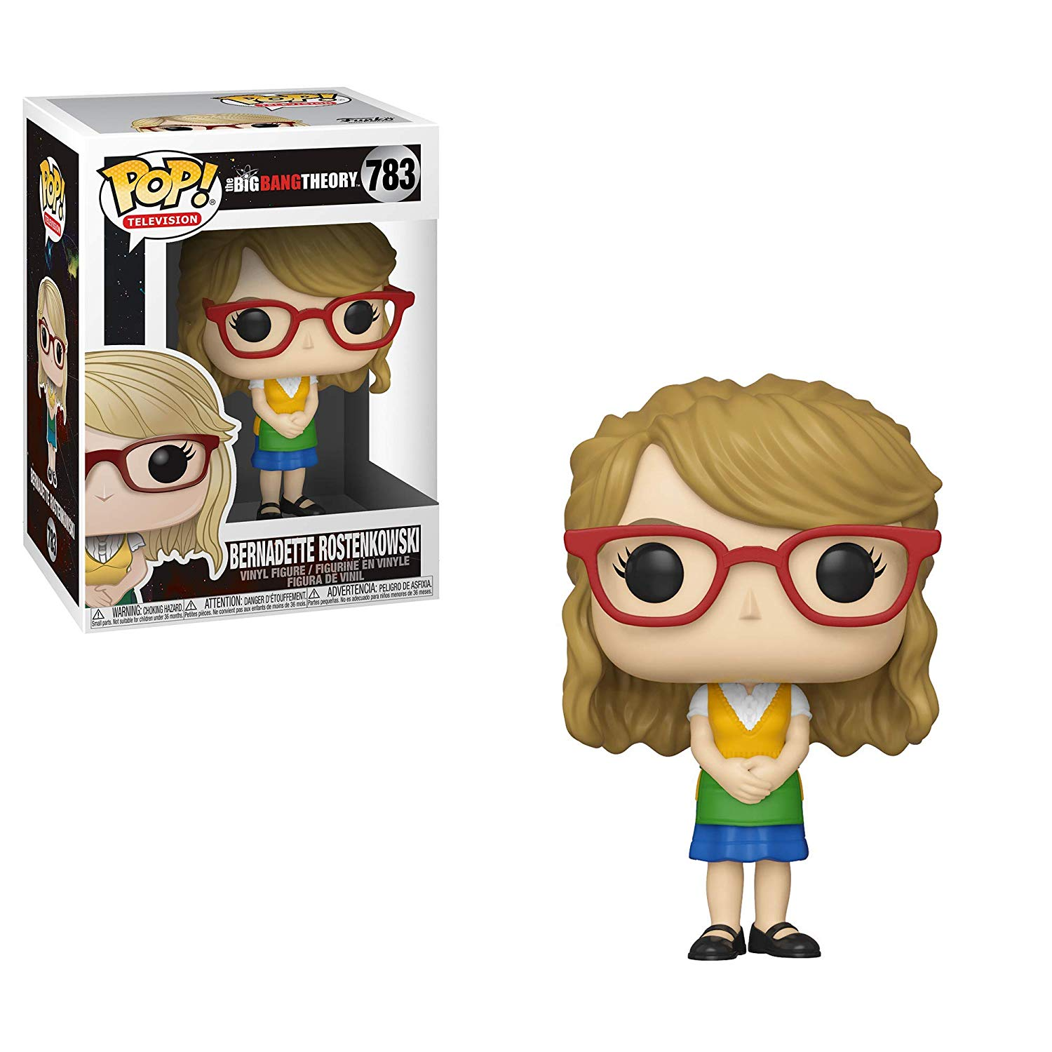 Pop! Television The Big Bang Theory Vinyl Figure Bernadette Rostenkowski #783