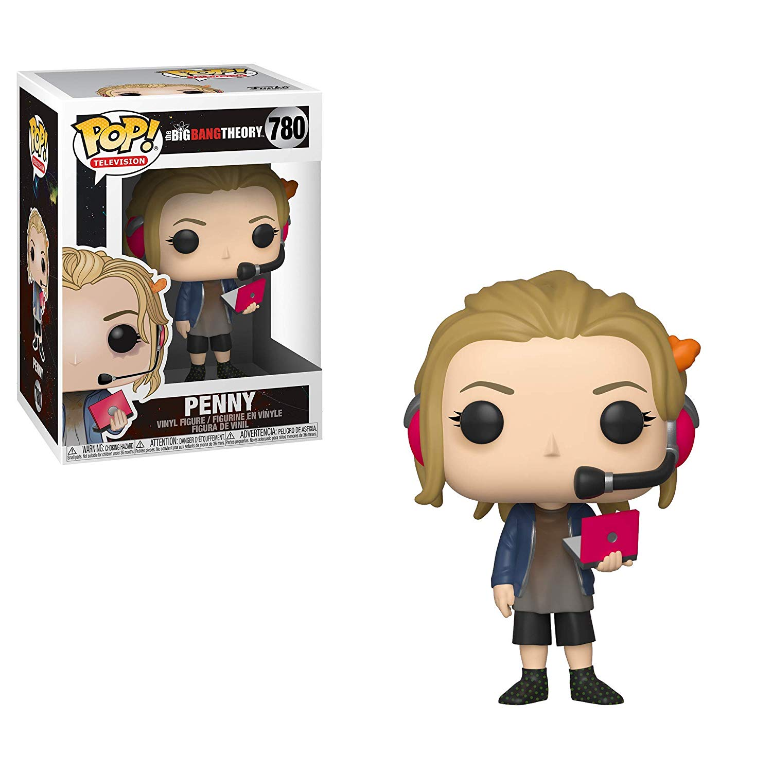 Pop! Television The Big Bang Theory Vinyl Figure Penny #780