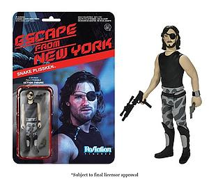 ReAction Figures Escape from New York Series Snake Plissken (Retired)