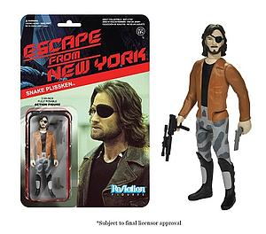 ReAction Figures Escape from New York Series Snake Plissken with Jacket (Retired)