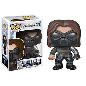Pop! Marvel Captain America The Winter Soldier Vinyl Bobble-Head Winter Soldier Masked #44 (Vaulted)