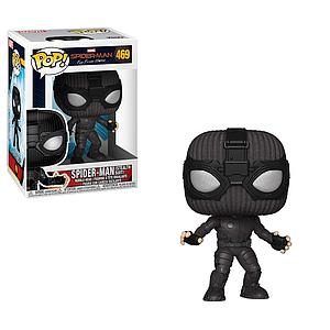 Pop! Marvel Spider-Man Far From Home Vinyl Bobble-Head Spider-Man (Stealth Suit) #469