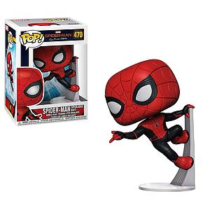 Pop! Marvel Spider-Man Far From Home Vinyl Bobble-Head Spider-Man (Upgraded Suit) #470