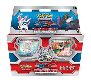 Pokemon XY Trainer Kit: Sylveon & Noivern