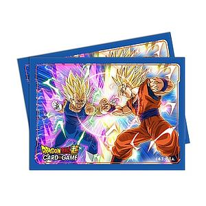 Dragon Ball Super - Vegeta vs Goku Standard Card Sleeves (66mm x 91mm)