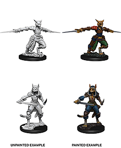 Dungeons & Dragons Nolzur's Marvelous Unpainted Miniatures: Female Tabaxi News