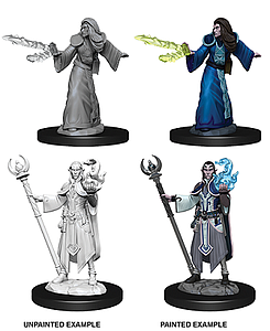 Dungeons & Dragons Nolzur's Marvelous Unpainted Miniatures: Male Elf Wizard