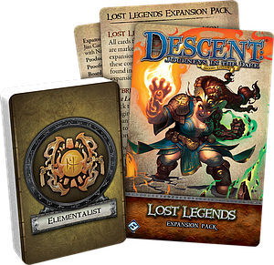 Descent: Journeys in the Dark (2nd Edition) - Lost Legends